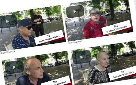 Screenshot vier Sendungen