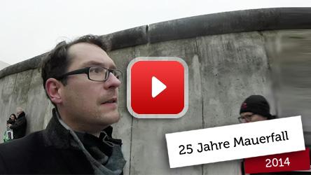 25 Jahre Mauerfall Lichterkette
