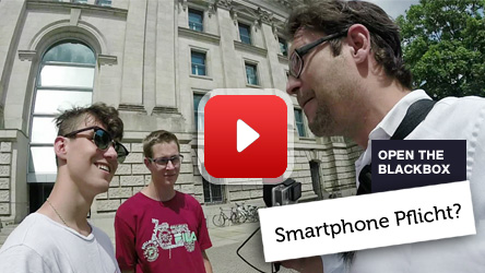 Smartphone Pflicht Gesetz Umfrage