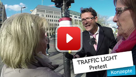 Traffic Light Werbesystem Pretest