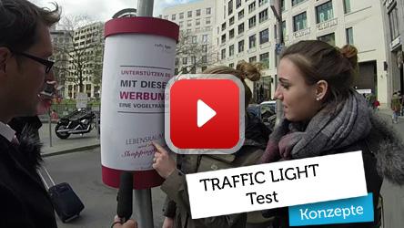 Traffic Light Werbesystem Test